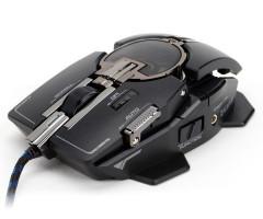 Zalman laserová myš ZM-GM4 - 8200DPI, program. 10tl., black, USB, mechanical design