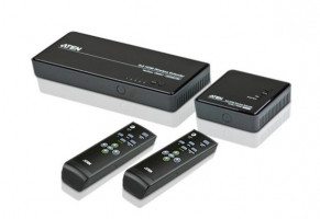 ATEN VE829-AT-G 5x2 HDMI WIRELESS EXTENDER W/EU ADP.
