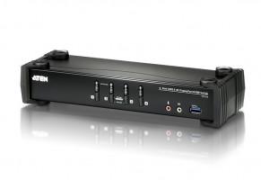 ATEN KVM switch CS-1924, 4-Port USB 3.0 4K DisplayPort (4K,USB 3.1 Gen 1)