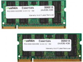 Mushkin Essentials DIMM Kit 2GB, DDR2-800