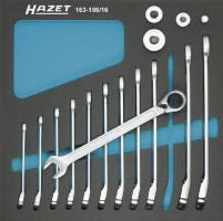 Hazet 163-186/16 Sada řáčnových klíčů