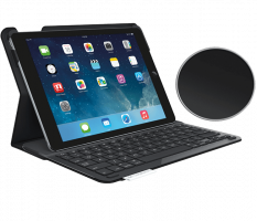 Logitech Type + Keyboard Cover pro iPad Air 2 - carbon black
