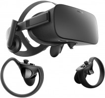 OCULUS Rift VR Virtual Reality + Touch VR Headset (Bundle)