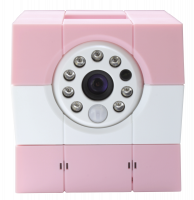 Amaryllo iBabi PLUS Baby Security Camera pink