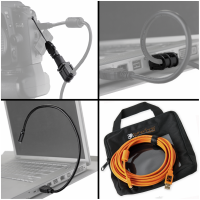 Tether Tools Starter Tethering- Kit: USB 2.0 A/Mini-B Kabel 4,6m