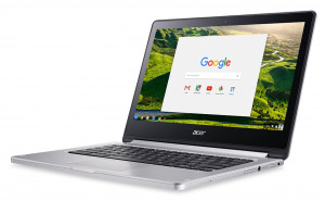 Notebook Acer Chromebook 13 MT8173, 4GB, 64GB, Chrome stříbrný