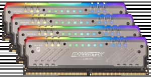 Crucial Ballistix Tracer RGB DDR4 64GB sada 16GBx4 2666 MT/s DR 288pin