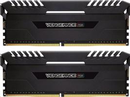 Corsair Vengeance RGB black DIMM sada 16GB, DDR4-3200, 2 x 8 GB