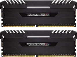 Corsair Vengeance RGB black DIMM sada 32GB, DDR4-3000, 2 x 16 GB
