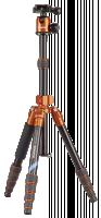 Cullmann Mundo 522T Stativ, černá/oranžová