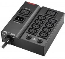 BlueWalker MBS/PDU IEC černá, napěťová distribuční jednotka (PDU)