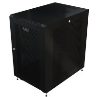 StarTech.com RK1833BKM, Freestanding rack, 18U, 450kg, Černá, rack