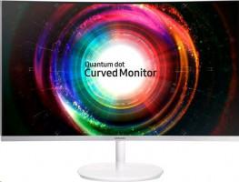 "Monitor Samsung LC27H711QEUXEN, 27"", WQHD, VA, Curved, white, Q-Dot, FreeSync"