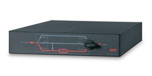 APC Service Bypass Panel - Přepínač obtoku ( k montáži na regál ) - AC 230 V - 10 výstupní konektor