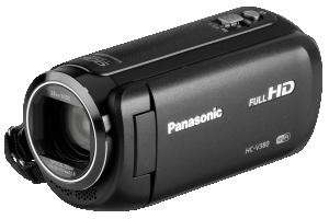 Panasonic HC-V380EG-K Černá kamera