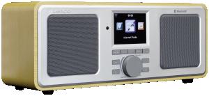 Lenco DIR-150, rádio hnědé