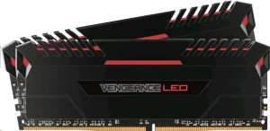 Corsair Vengeance LED red DIMM sada 16GB, DDR4-3200, 2 x 8 GB