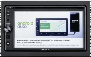 Sony XAV-AX200 - Autorádio