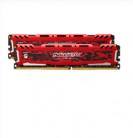 Ballistix Sport LT 32GB sada DDR4 16GBx2 2666 MT/s DIMM 288pin red