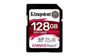 Kingston SDXC 128GB UHS-I SDR/128GB