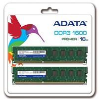 ADATA 16GB (Kit 2x8GB) DDR3 1600MHz CL11, retail