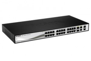 D-Link 24 PoE 10/100/1000 Base-T port with 4 x 1000Base-T /SFP ports- 24 x PoE 10/100/1000Mbps - DGS-1210-28P