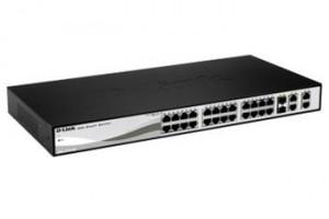 D-Link 24 PoE 10/100/1000 Base-T port with 4 x 1000Base-T /SFP ports- 24 x PoE 10/100/1000Mbps - DGS-1210-28P