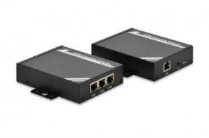 Digitus HDMI Extender, Set, CAT. 5e/6, up to 100m, cascadable rack mountable