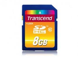 Transcend SDHC karta 8GB Class 10