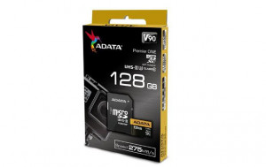 Adata microSDXC 128GB Class 10 read/write 275/155MBps