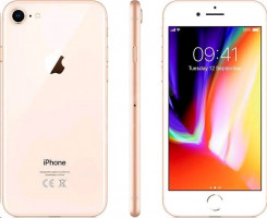 Apple iPhone 8 256GB, Zlatý