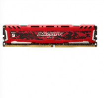 Ballistix Sport LT 16GB DDR4 2666 MT/s DIMM 288pin red
