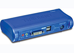 TRENDnet 2 PORT DVI/USB KVM SWITCH sada