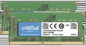 Crucial 32GB DDR4 2400 MT/s sada 16GBx2 SODIMM 260pin pro Mac