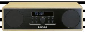 Lenco DAR-070, černé rádio