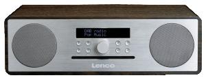 Lenco DAR-070, stříbrné rádio