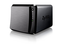 "ZyXEL NAS542, 4-bay Dual Core Personal Cloud Storage, Dual Core CPU 1.2GHz, 1GB DDR3 memory, 4 SATA II 2.5""/3.5"" HDD,"