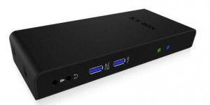 Icy Box Multi Docking stanice for Notebooks and PCs, 2x USB 3.0, HDMI, Black