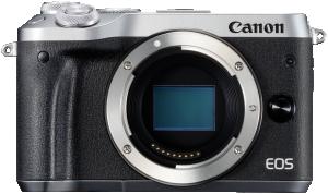 Canon EOS M6 Body stříbrná barva