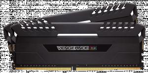 Corsair Vengeance RGB Series LED 2x 32GB, 3800MHz DDR4 CL19