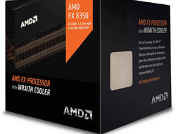 CPU AMD FX 8-Core FX-8350 (Vishera) 4.0GHz (4.2GHz Turbo) 16MB cache 125W socket AM3+, BOX (Wraith cooler)