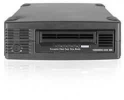 Tandberg LTO-6 HH - External drive kit, black, BE, 1x data cartridge - SAS