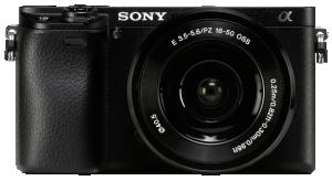 Sony Alpha 6300 + SEL 16-50 Sada, černá