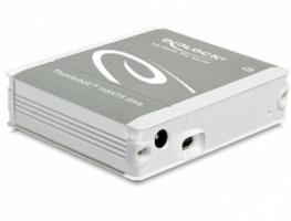Delock Externí skříň pro mSATA SDD s připojením na Thunderbolt™