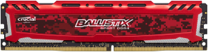 Ballistix Sport LT 16GB DDR4 2400 MT/s DIMM 288pin red