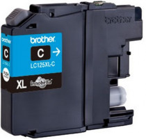 Brother LC-125XLC (inkoust cyan,1200 str.)