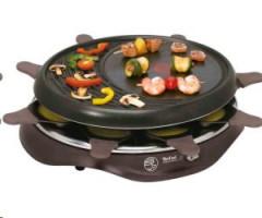 Tefal Raclette RE 5160 1050W černá - BAZAR