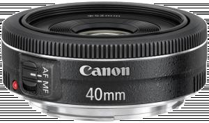 Canon EF - Objektiv - 40 mm - f/2.8 STM - Canon EF - pro EOS 1100, 1D, 5D, 60, 600, 650, Kiss X5, K