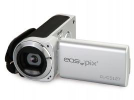 Easypix DVC5127 Trip Videokamera, stříbrná