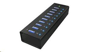 Raidsonic ICY BOX IB-AC6110 10-Port USB 3.0 Hub